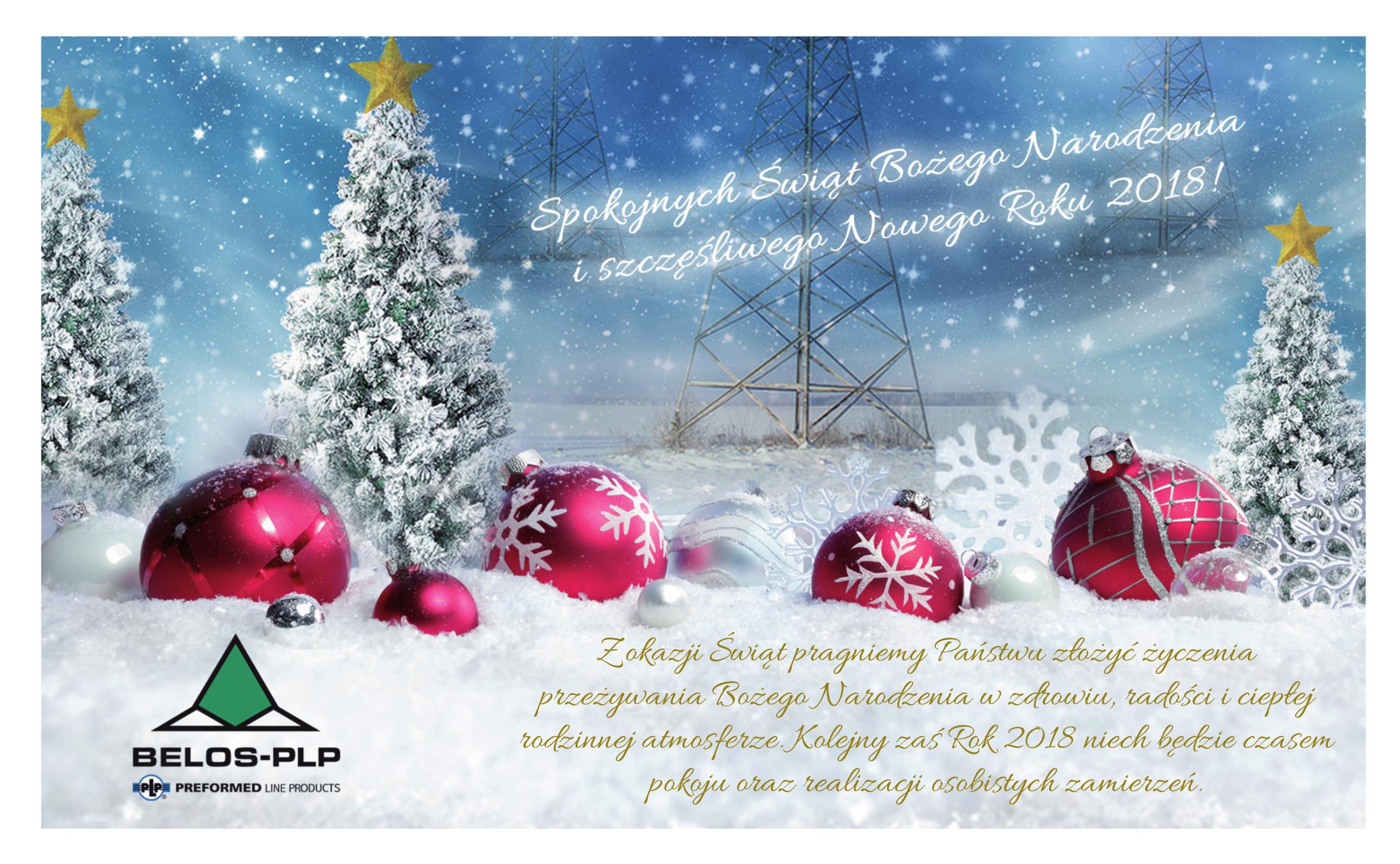 boze narodzenie 2018 zyczenia swiateczne Życzenia świąteczne i noworoczne   Belos PLP   osprzęt energetyczny boze narodzenie 2018 zyczenia swiateczne